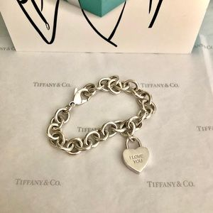 Tiffany & Co. Heart Lock Bracelet